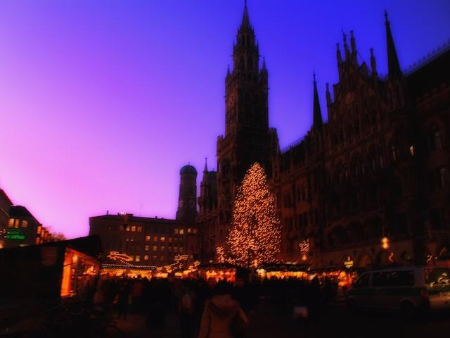 ミュンヘンクリスマスマーケットの画像