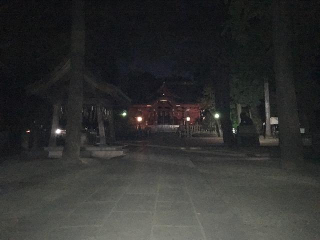 スマホカメラで暗所を撮影した画像