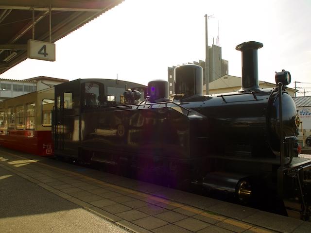 里山トロッコ列車の画像