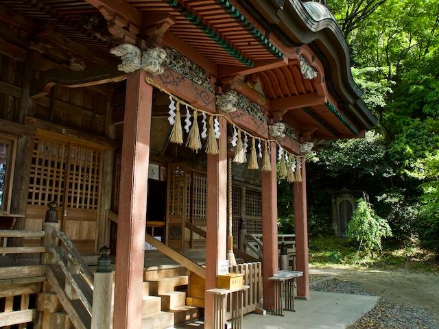 高瀧神社本堂の画像