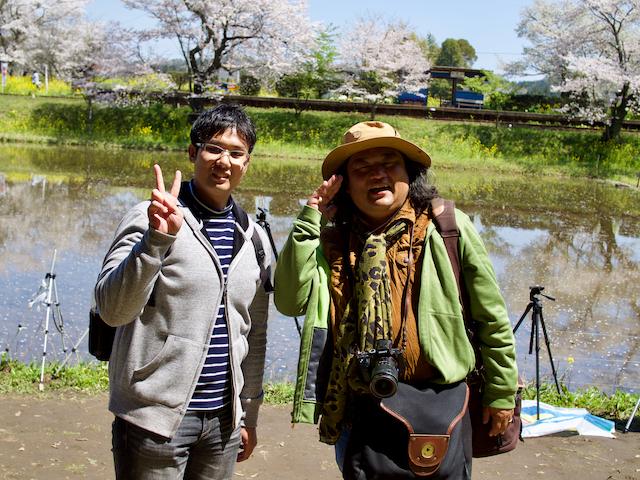 中井精也先生とのツーショットの画像
