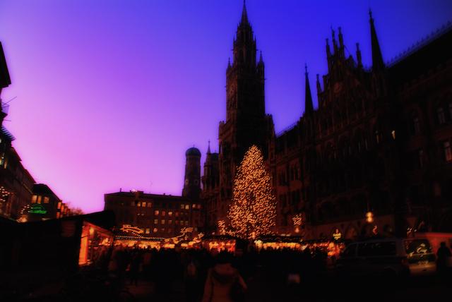 ミュンヘン・クリスマスマーケットの画像