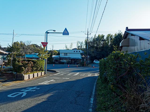 山登里T字路の画像
