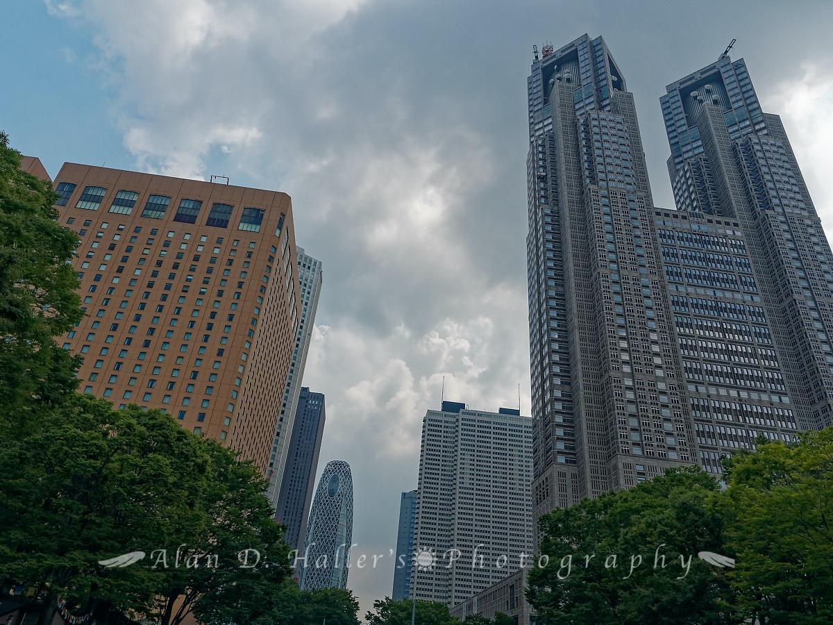 新宿の摩天楼の画像