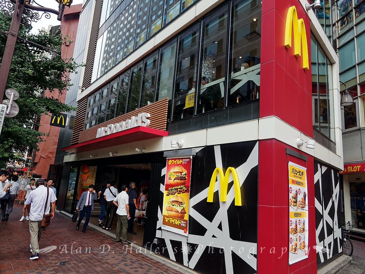 マクドナルド西武新宿駅前店の画像