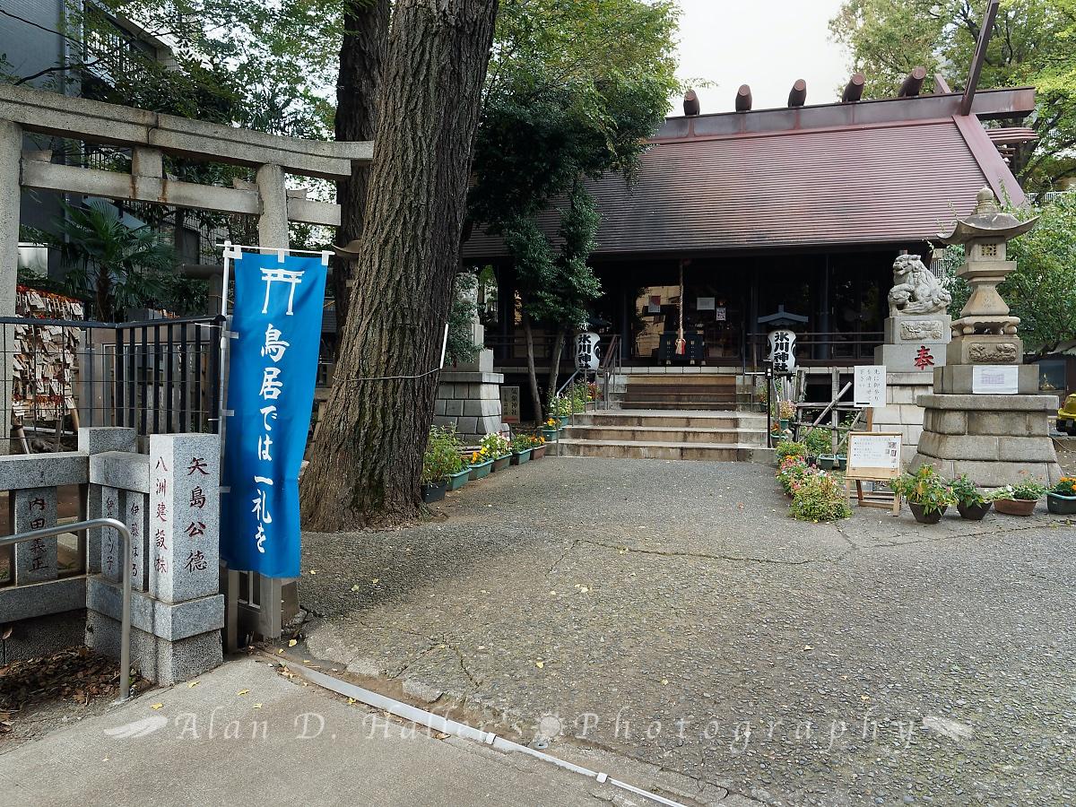 気象神社の入口の画像