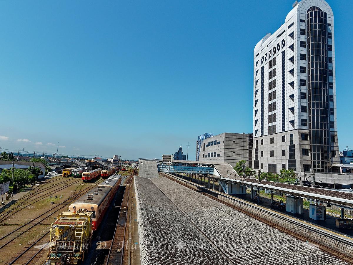 五井駅構内の様子の画像