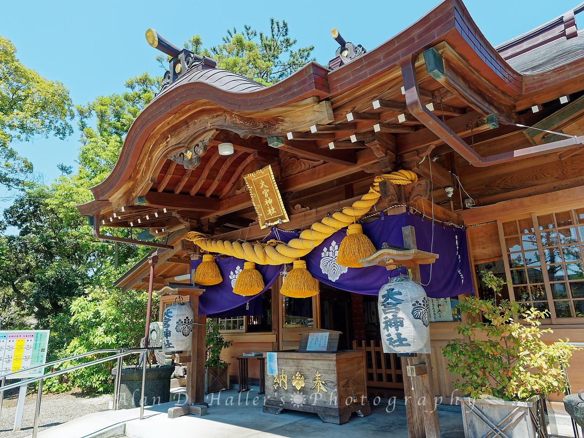 大宮神社の本殿側面の画像