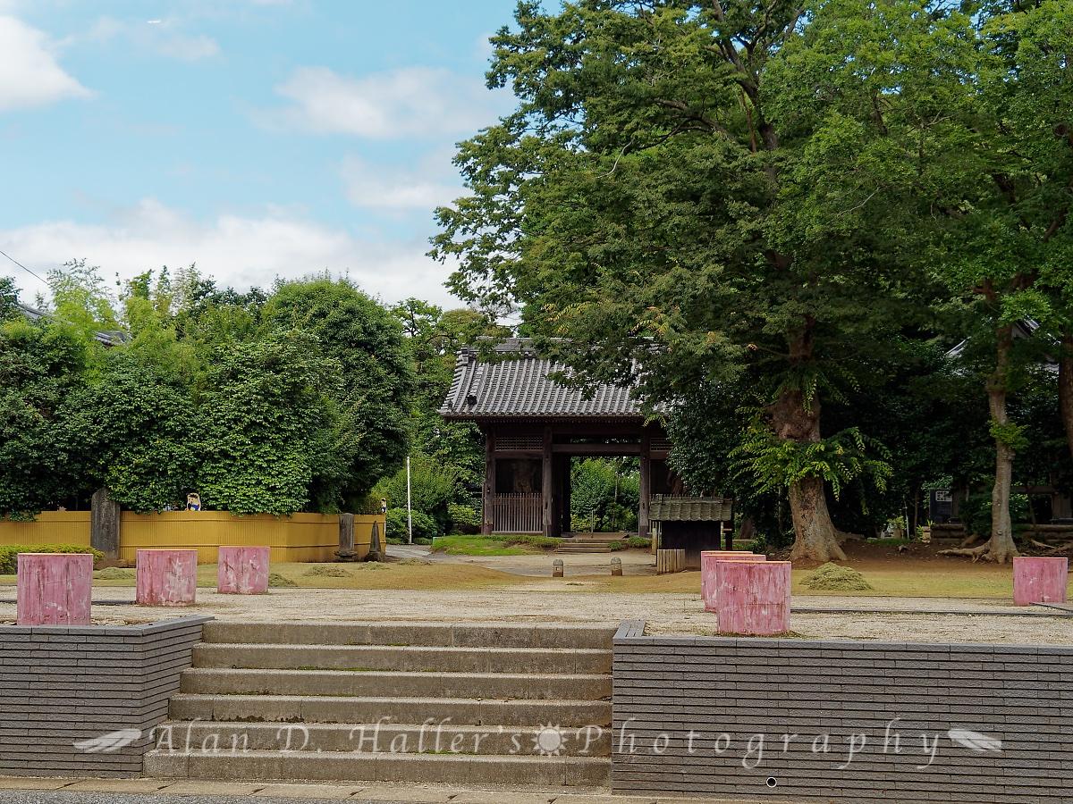 上総国分寺跡の入口