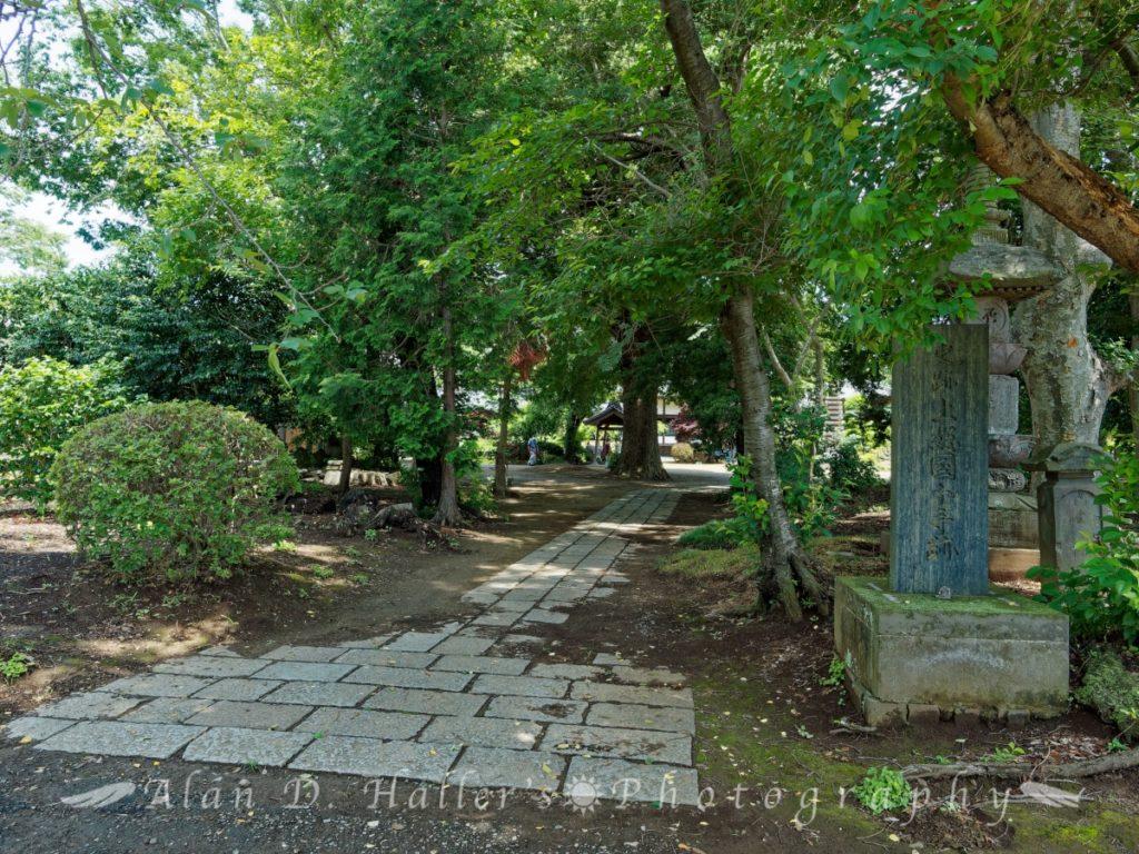 史跡上総国分寺跡の石碑