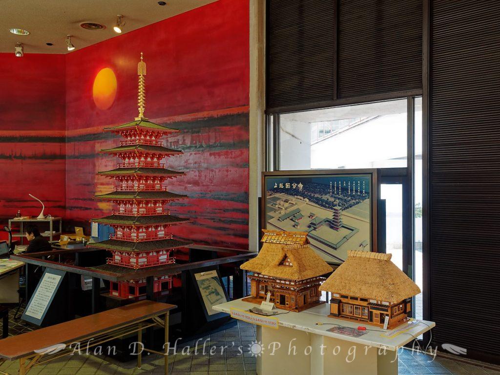市原市役所・第2庁舎1階ロビーの展示模型