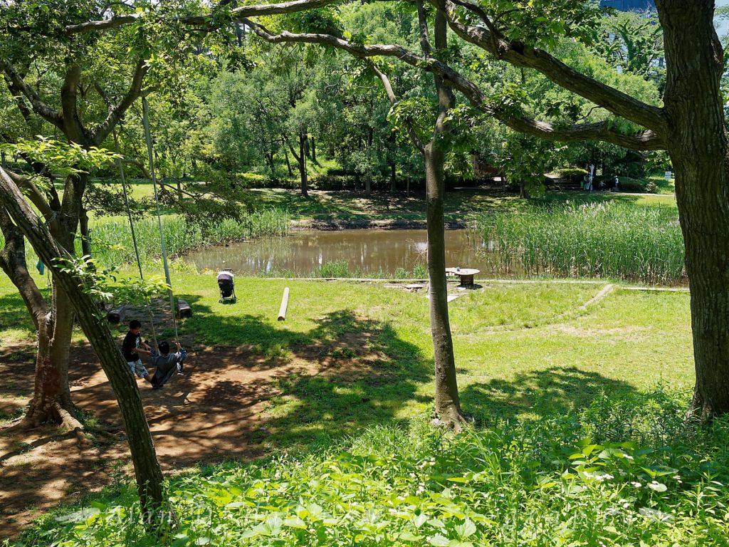 国分寺中央公園の遊び場