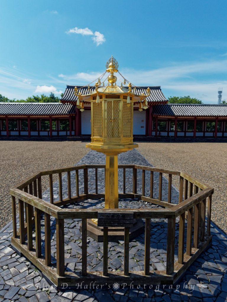 上総国分尼寺の復元灯籠