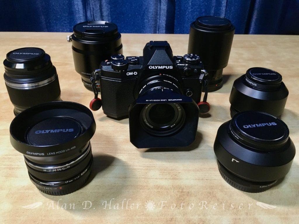 OM-D E-M5 Mark IIとPREMIUM単焦点レンズ群