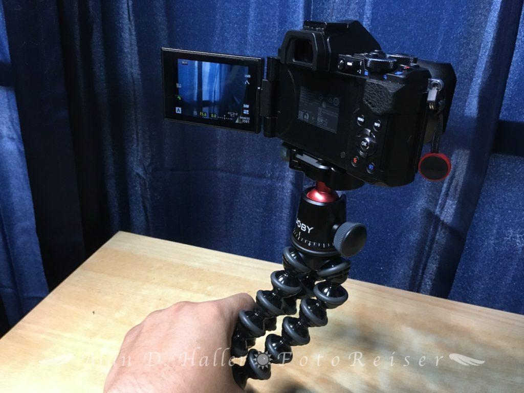 Vlogカメラ化したOM-D E-M5 Mark II