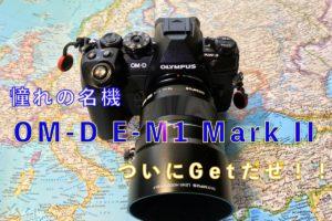 【購入報告】OM-D E-M1 Mark II